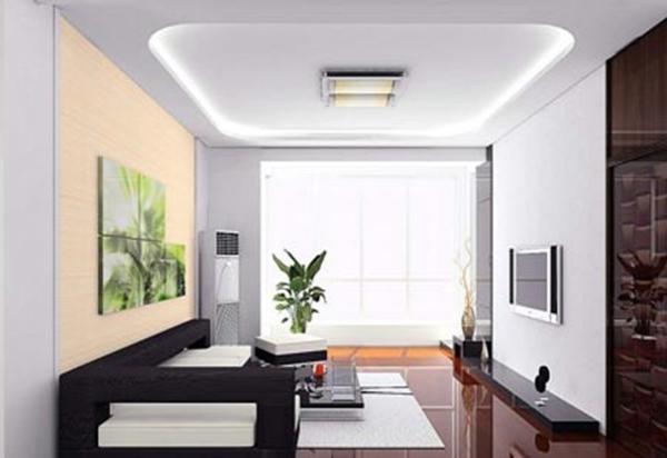 客厅悬空顶造型图片