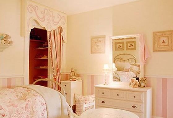 小户型装修效果图大全 小户型卧室装修效果图大;; 可爱女生卧室装修