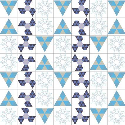 四方连续纹样设计步骤