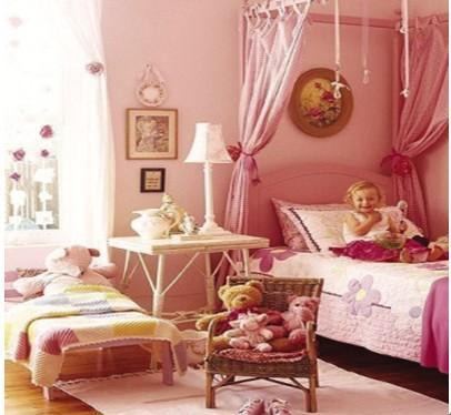 公主一般梦幻的房间