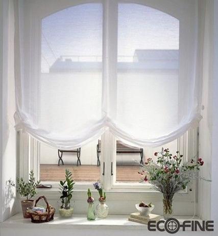窗纱守住私密空间
