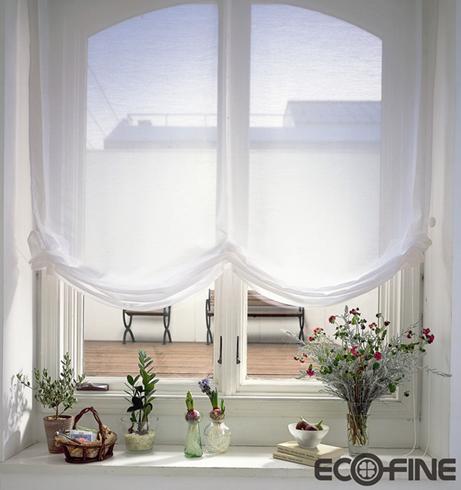温馨窗帘 让你的房间充满生机