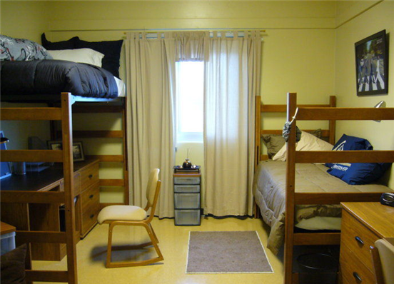欧式卧室装修 宿舍