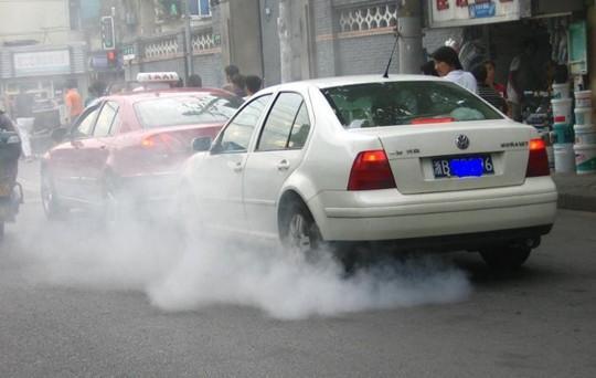 汽车尾气污染环境