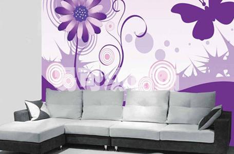 漂亮墙纸 夏季房间中一道亮丽风景