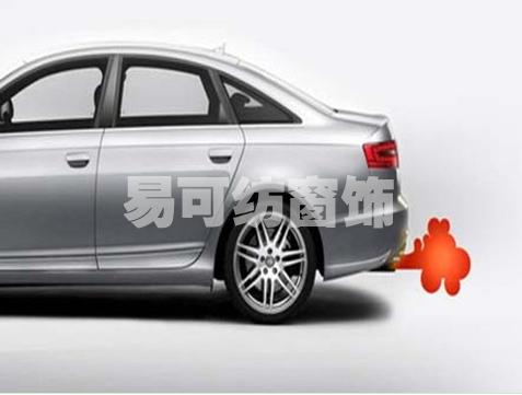 汽车尾气排放造成的大气污染问题,看似只是小小的气体排放,但高清图片