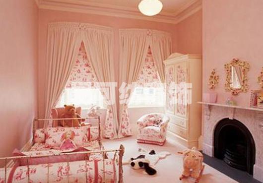 女孩卧室立柜欧式装修效果图