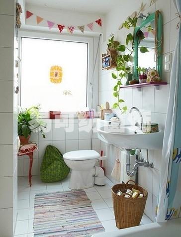 大爱小清新可爱的卫生间