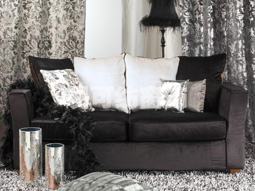 巴洛克式的窗帘风格