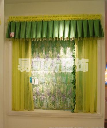 绿色窗帘,营造节能清新之夏