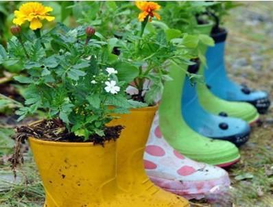 幼儿园手工制作植物花盆