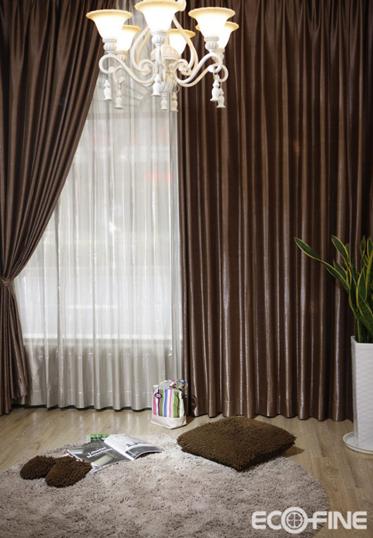 黑白窗帘,给家居加点个性