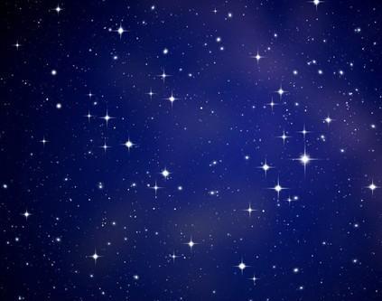 会发光的星星矢量图