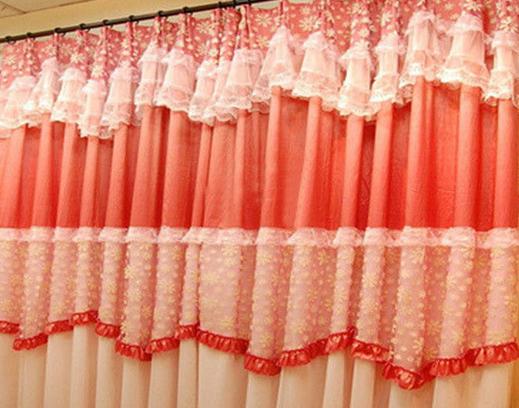 看婚房窗帘
