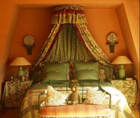 卧室复古小情调