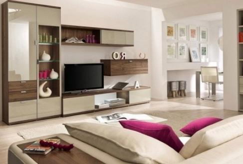 米色客厅的典雅与舒适