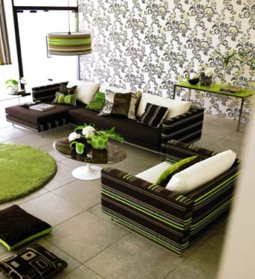 用几何图形来装饰你的客厅