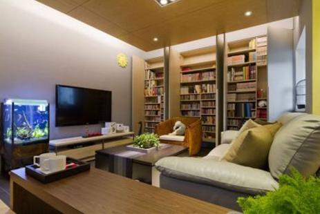 打造收纳型的实用客厅