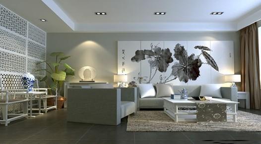 新古典中式客厅