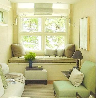 窗台改造休息区