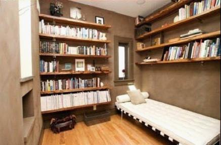 空间较小书房可以不必购买庞大