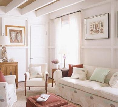 白色时尚客厅