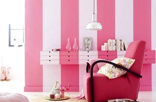 粉色甜美客厅