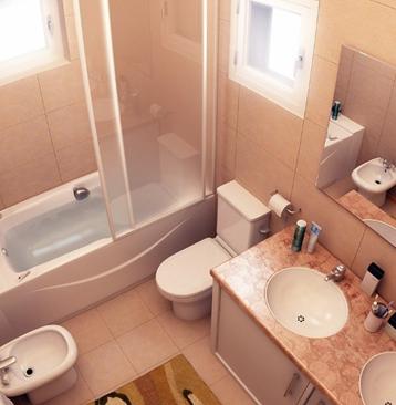 .温馨浴室