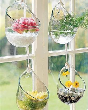 用鲜花来装饰你的窗