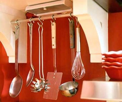 """将整个厨房""""挂""""起来"""