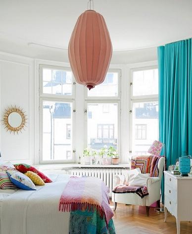 民族色彩卧室