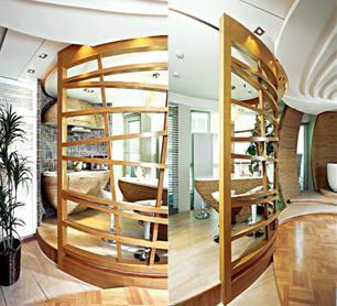 楼梯手绘空间透视
