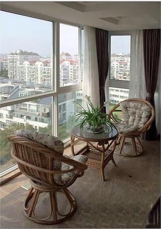 小小创意 阳台变身休闲区