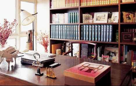 打造秋意盎然的书房