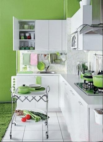 绿意点缀厨房,给入厨加点清新