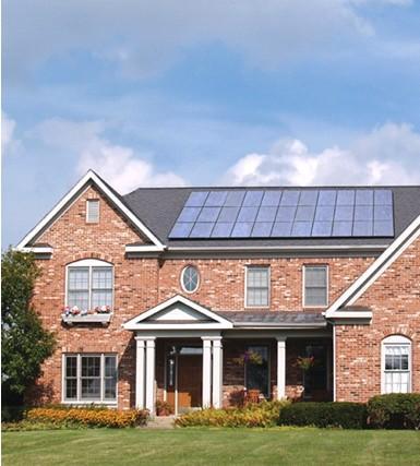 太阳能房屋,环保节能屋