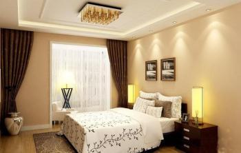 家居装修窗帘效果图 温馨软装一帘幽梦