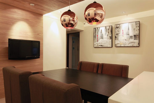 装修效果图 美式古典三居室设计