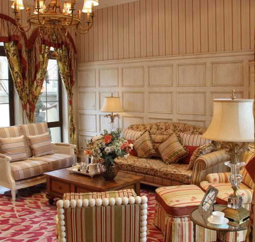 窗帘图片,客厅窗帘图片,飘窗窗帘效果图