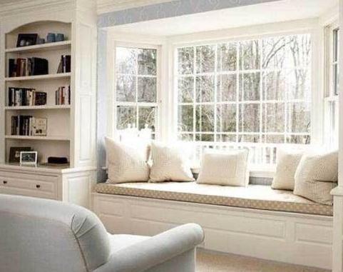 窗帘图片,飘窗窗帘效果图,卧室窗帘效果图