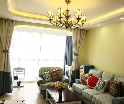 窗簾圖片,時尚家居,飄窗窗簾效果圖
