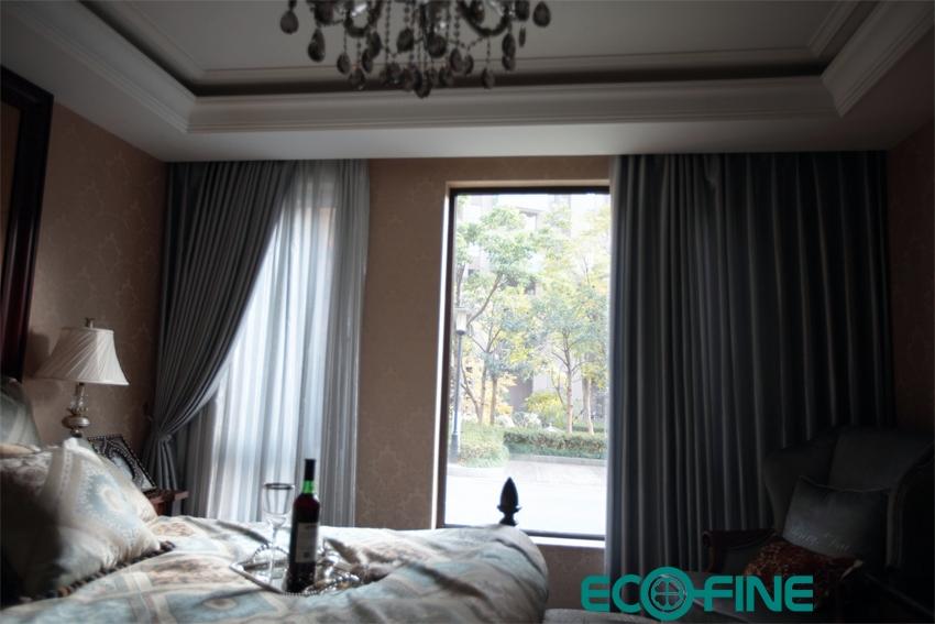 窗帘图片,时尚家居,飘窗窗帘效果图