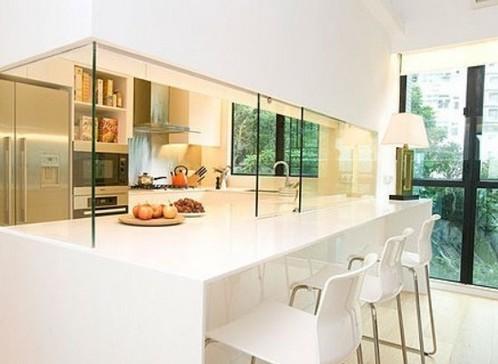 简约时尚风来袭 打造舒适家居厨房隔断设计