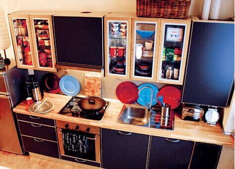 小户型厨房装修美丽欣赏