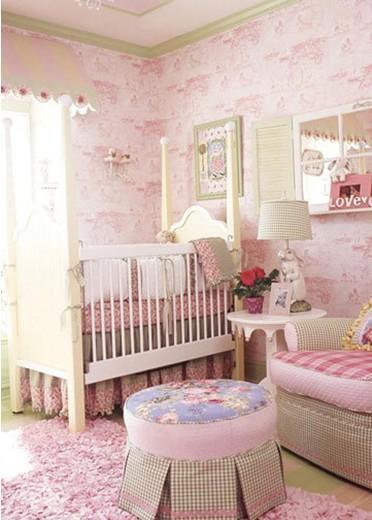 婴儿卧室设计效果图